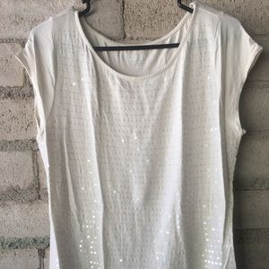 Lot of 2 sequin tees